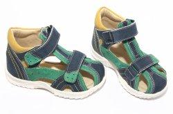 Sandale copii  - Sandale copii hokide 311 albastru verde