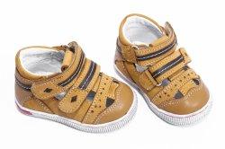 Sandale copii  - Sandale copii piele 120 camel