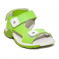 Sandale copii  - Sandale copii pj shoes Roy albastru rosu 27-35