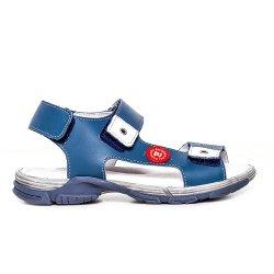 Sandale copii  - Sandale copii piele Pj Shoes Roy rosu 27-36