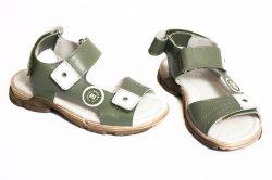 Sandale copii  - Sandale copii pj shoes Roy kaki