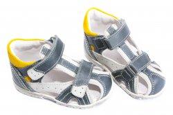 Sandale copii  - Sandale copiii hokide 311 albastru galben