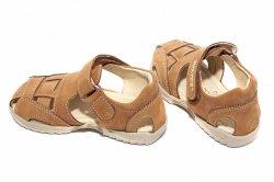 Sandale copii  - Sandale copii hokide 109 bej maro