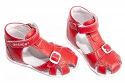 Sandale copii  - Sandale fete hokide 231 rosu