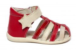Sandale copii  - Sandale fete hokide 406 rosu 18-24