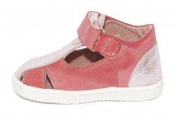 Sandale copii  - Sandale fete pj shoes Pablo roz 18-26