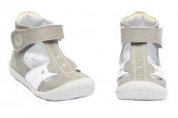 Sandale copii  - Sandale ortopedice copii hokide 273 gri alb 18-24