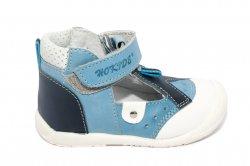 Sandale copii  - Sandalute baieti hokide 305 albastru blu 18-24