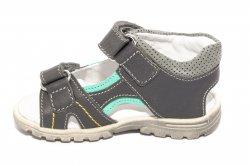 Sandale copii  - Sandalute baieti hokide 358 gri verde 22-27
