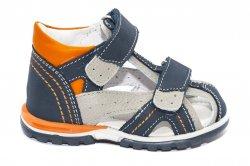 Sandale copii  - Sandalute baieti hokide picior lat 311 blu port 18-25