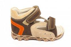 Sandale copii  - Sandalute copii hokide 276 bej maro 18-25