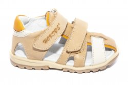 Sandale copii  - Sandalute copii hokide picior lat 357 cafe 22-27