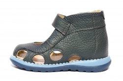 Sandale copii  - Sandalute copii inalte picior lat gros 550 gri 18-25