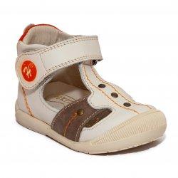 Sandale copii  - Sandalute ortopedice copii 273 bej maro 18-24