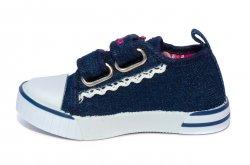 Tenisi copii  - Tenisi fete textil spuer gear 1118 blu roz 20-25