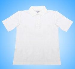 Tricouri copii  - Tricouri polo copii 327 alb 4-13ani