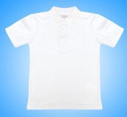 Tricouri copii  - Tricouri polo fete 327 alb 4-13ani