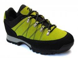 Ghete goretex copii  - Pantofi goretex copii cu vibram 2200 negru-verde