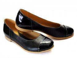 Pantofi balerini dama  - Pantofi dama adi negru