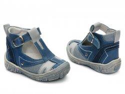 Sandale copii  - Sandale copii hokide 306 blu