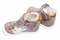 Sandale copii  - Sandale copii hokide 273 maro
