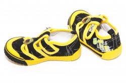 Tenisi copii  - Tenisi copii 9915 negru galben