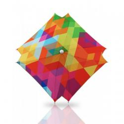 Accesorii carucioare copii  - Umbrela universala pentru carucior cu protectie UV Bexa - Cube Multicolour
