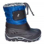Apreskiuri copii de iarna cu blana pj shoes Fun royal 21-36