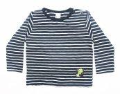 Bluze copii cu maneca lunga 3332 blu cu dungi