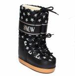 Boots dama de zapada snow 2531 negru stelute 24-40