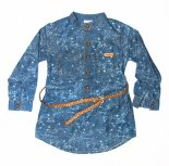 Camasa fete 3945 albastru