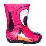 Cizme fete cauciuc de ploaie catel roz 20-30
