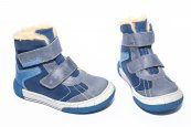 Ghete copii blana pj shoes Kiro albastru 20-29