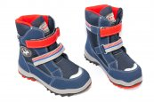 Ghete copii goretex waterproof 85412 albastru rosu