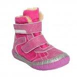 Ghete fete blana pj shoes Kiro roz fuxia 20-29