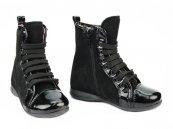 Ghete fete din piele pj shoes Mona