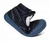 Ghete flexibile fete vatuite pj shoes Teddy blu lux 20-26