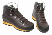 Ghete goretex barbati waterproof Vibram Brecon 1330 maro galben