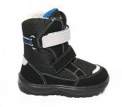 Ghete impermeabile copii iarna gore-tex 95312 negru albastru 26-36