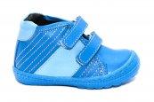 Ghetute copii piele pj shoes Seby albastru 20-26