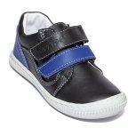 Pantofi baieti flexibili sport hokide 458 negru blu 26-30