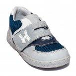 Pantofi baieti sport hokide 395 gri albastru 19-25
