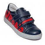 Pantofi baieti sport hokide 398 blu red 26-37