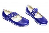 Pantofi balerini copii 639 blu new 26-36