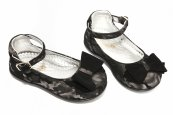 Pantofi balerini fete avus Camos negru