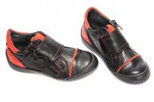 Pantofi copii Goal 2 pj shoes negru rosu 27-37