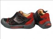 Pantofi copii Goal negru rosu