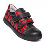 Pantofi copii sport hokide 398 negru red 26-37