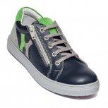 Pantofi copii sport hokide 400 blu verde gri 26-37