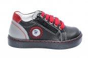 Pantofi copii sport hokide 400 negru rosu 22-27